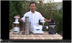 John Kohler talks about Juicers