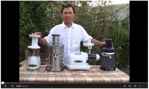 John Kohler talks about Juicers